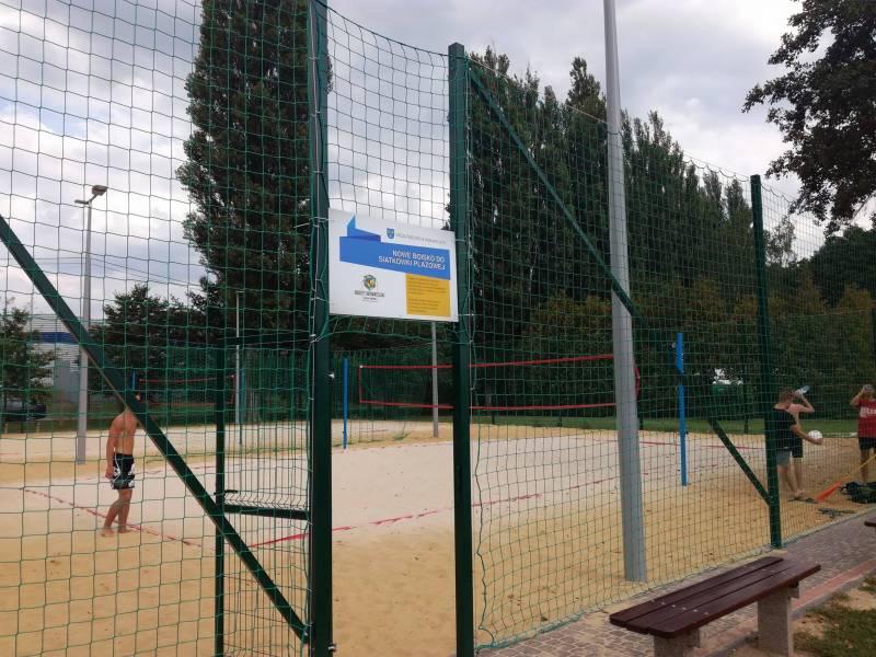 Projekt modernizacji boisk siatkówki plażowej na terenie MOSiR