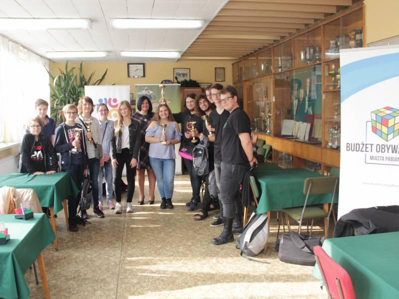 Młodzieżowe Mistrzostwa Pabianic w brydżu sportowym